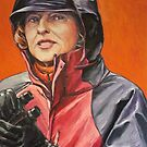 Gai Waterhouse: 'The Lady Trainer' 2012 Ⓒ by Elizabeth Moore Golding