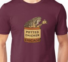 Potted Chicken Unisex T-Shirt