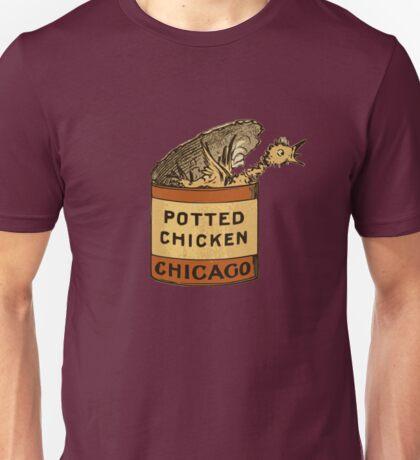 Potted Chicken Unisex T-Shirt