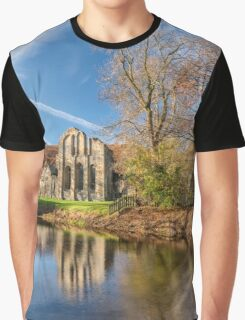 Valle Crucis Abbey  Graphic T-Shirt
