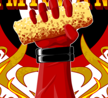Deadpool and Chimichanga Sticker