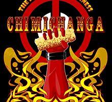 Deadpool and Chimichanga by AzizM