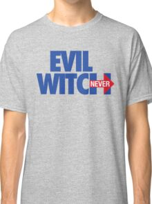 EVIL WITCH - NEVER HILLARY Classic T-Shirt