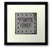 Steampunk Criminal Framed Print