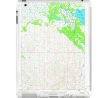 USGS TOPO Map Alaska AK Ugashik A-5 360091 1963 63360 iPad Case/Skin