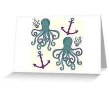 Octopussy Greeting Card