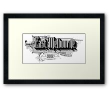 East Melbourne Framed Print