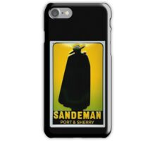 Sandeman Port and Sherry Ad Circa 1930s iPhone Case/Skin