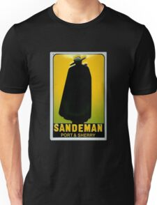 Sandeman Port and Sherry Ad Circa 1930s Unisex T-Shirt