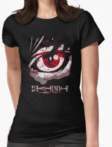cool grunge death note Womens Fitted T-Shirt