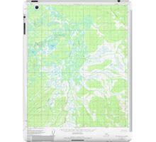 USGS TOPO Map Alaska AK Melozitna C-5 357527 1954 63360 iPad Case/Skin