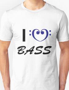 I Love Bass Unisex T-Shirt
