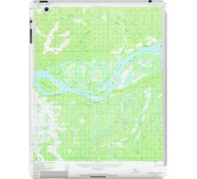 USGS TOPO Map Alaska AK Melozitna A-1 357488 1952 63360 iPad Case/Skin