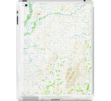 USGS TOPO Map Alaska AK Noatak D-3 358047 1955 63360 iPad Case/Skin