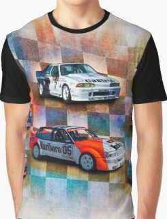 Racing Commodores Graphic T-Shirt