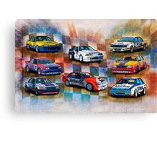 Racing Commodores Canvas Print