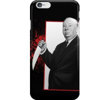 alfred hitchcock classic psycho iPhone Case/Skin