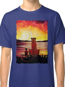 Calvin and Hobbes Art Painting Classic T-Shirt