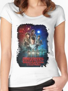 Stranger Things - Original Women's Fitted Scoop T-Shirt