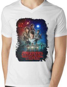 Stranger Things - Original Mens V-Neck T-Shirt