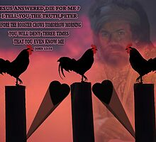 BEFORE THE ROOSTER CROWS BIBLICAL by ╰⊰✿ℒᵒᶹᵉ Bonita✿⊱╮ Lalonde✿⊱╮