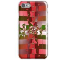 Strawberry-Colored Pattern iPhone Case/Skin