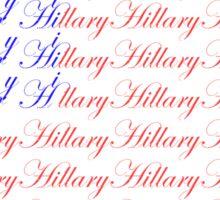 Hillary Flag Sticker