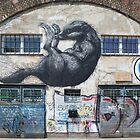 Graffiti Raccoon by Mythos57