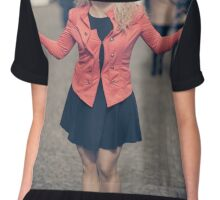 Young business girl Chiffon Top