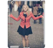 Young business girl iPad Case/Skin