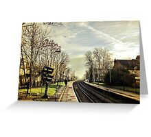 Tooting Station, London Greeting Card