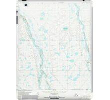 USGS TOPO Map Alaska AK Umiat B-2 360139 1971 63360 iPad Case/Skin