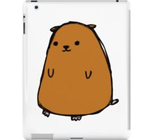 Poorly drawn hamster iPad Case/Skin