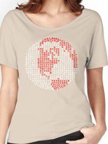 Poket Monsters Globe Women's Relaxed Fit T-Shirt