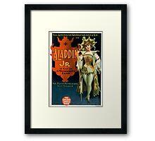 Aladdin Jr 1 - Strobridge - 1894 Framed Print
