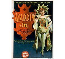 Aladdin Jr 1 - Strobridge - 1894 Photographic Print