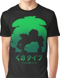 Mega Grass Graphic T-Shirt