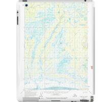 USGS TOPO Map Alaska AK Tyonek B-1 360011 1958 63360 iPad Case/Skin