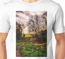 Muddy Country Path HDR Unisex T-Shirt