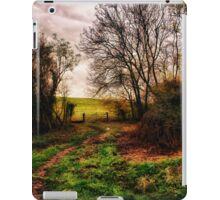 Muddy Country Path HDR iPad Case/Skin