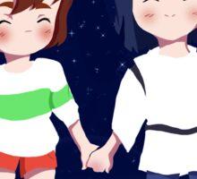 Spirited Away- Chihiro and Haku Sticker