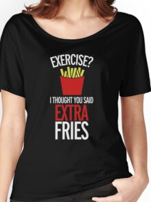Extra Fries Women's Relaxed Fit T-Shirt