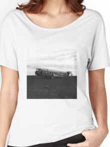 Iceland air crash Women's Relaxed Fit T-Shirt