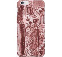 cat mummies iPhone Case/Skin