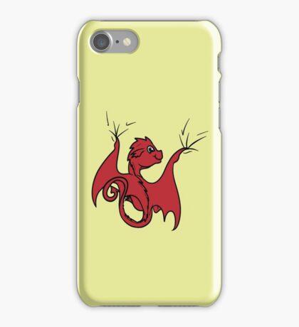Red Dragon Rider iPhone Case/Skin