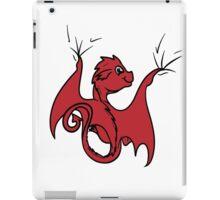 Red Dragon Rider iPad Case/Skin
