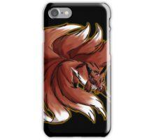 Nine Tailed Fox  iPhone Case/Skin