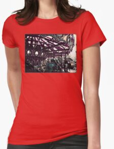 Carousel Womens Fitted T-Shirt
