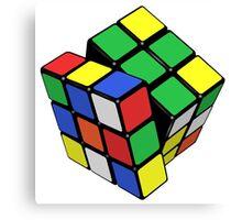 Rubik's Cube - Get Twisted Canvas Print