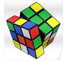 Rubik's Cube - Get Twisted Poster